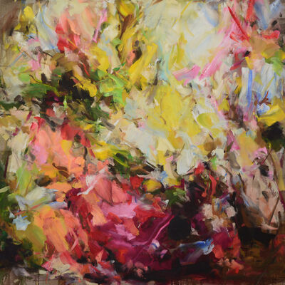 Yangyang Pan, 'In Between the Blossom', 2018