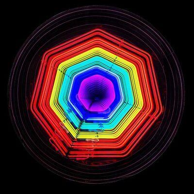 Falcone, 'Infinity Flower neon', 2018