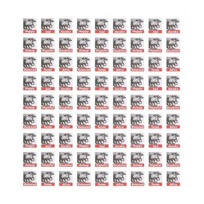 Barbara Kruger, 'Untitled (Stamps)', 2013