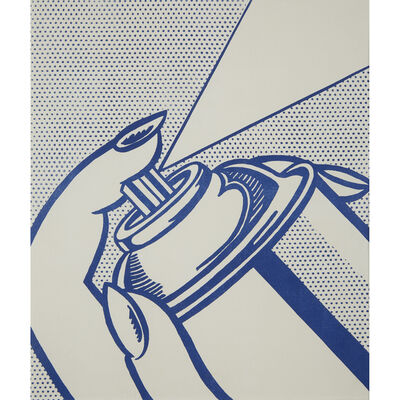 Roy Lichtenstein, 'Spray Can from One Cent Life', 1963-64