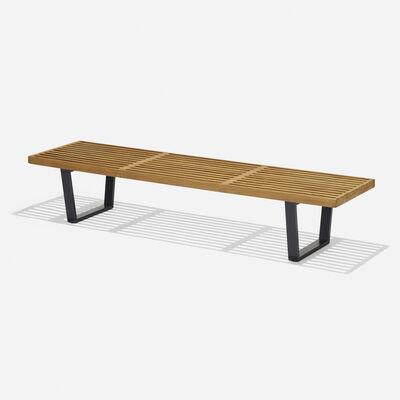George Nelson & Associates, 'Slat bench, model 4692', 1946
