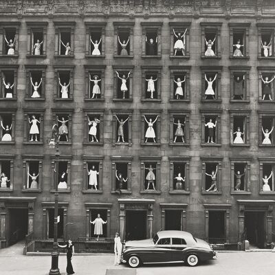 Ormond Gigli, 'Girls in the Windows, New York City'