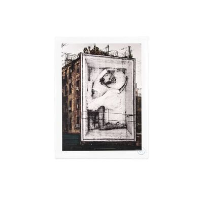 JR, 'Ballet, Ballerina in Crate, East Village, New York City, 2015*', 2019