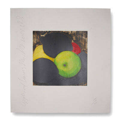 Donald Sultan, 'Apples and Lemons', 2005