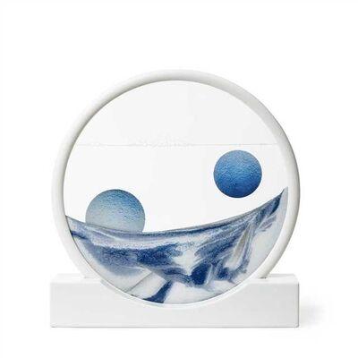 Daniel Arsham, 'Sand Circle Blue'