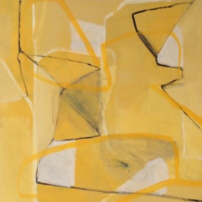 Jimmie James, 'yellow', 2014