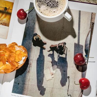 Anastasia Samoylova, 'Breakfast with Ernst Haas 1949', 2017