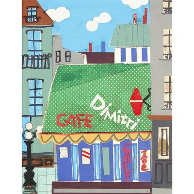 Romare Bearden, 'Cafe Dimitri'