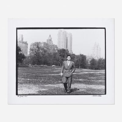 Osvaldo Salas, 'Fidel Castro in Central Park, New York', 1955