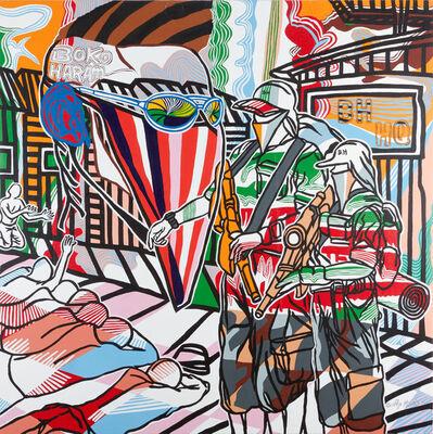 Boris Nzebo, 'Blood on the Painting', 2016