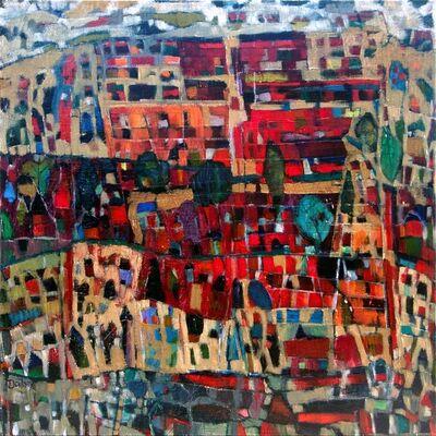 Toni Doilney, 'Red Square', 2015