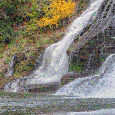Daniel Ambrosi, 'Cascading Dreams; Ithica Falls'