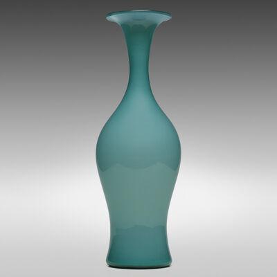 Paolo Venini, 'Monumental Opalino vase, model 3556', 1950