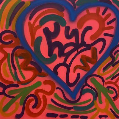 LA II (Angel Oritz), 'Blue Heart', N/A