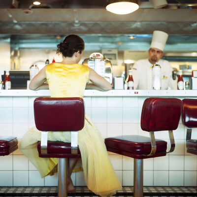Cig Harvey, 'The Diner, Self Portrait, Miami, Florida', 2005