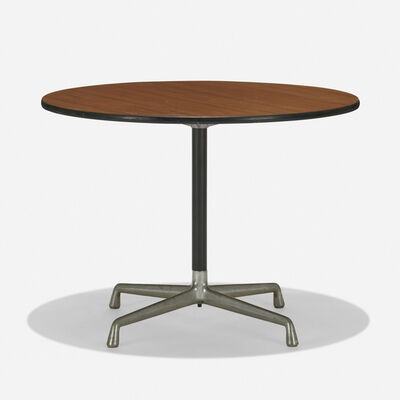Charles and Ray Eames, 'Aluminum Group table', c. 1965