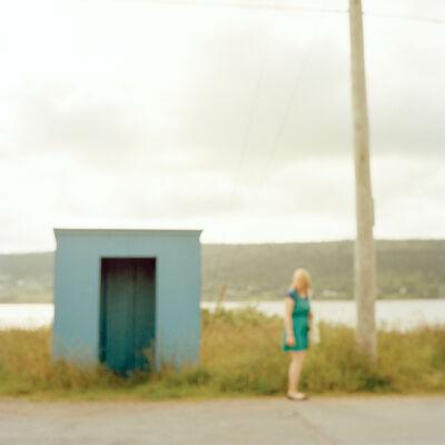 Virginia Mak, 'Untitled 05 (Woman beside Bus Shelter)', 2016