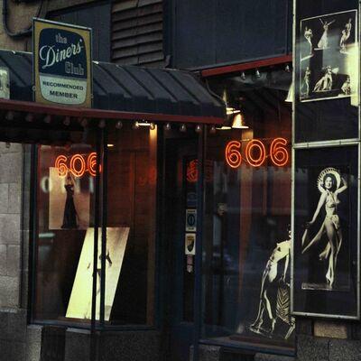 Mario Carnicelli, '606 burlesque club, Chicago', 1966