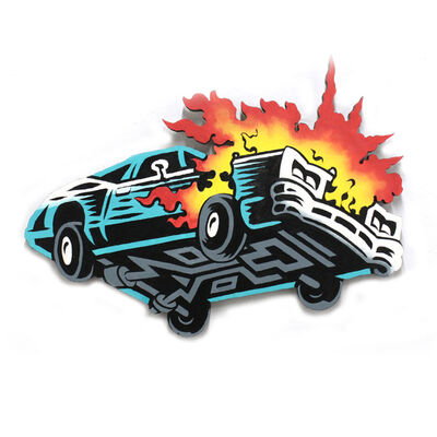 Jason Wasserman, 'Burning Car', 2018