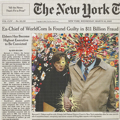 Fred Tomaselli, 'Guilty', 2005