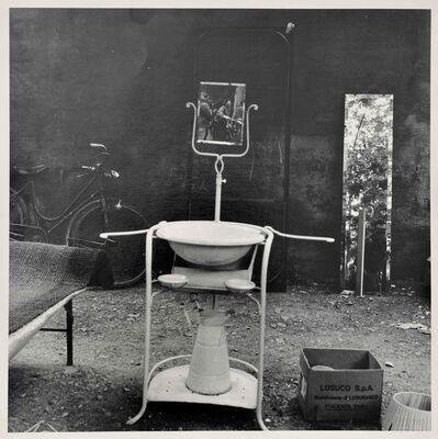 Franco Vaccari, 'Lo specchio del lavabo', 1961