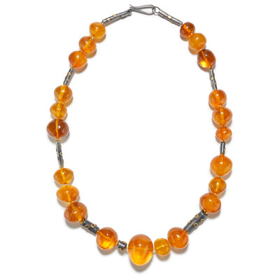 Alexandra Watkins, 'Liquid Amber Bead Necklace', ca. 2016