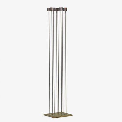 Val Bertoia, 'Large Sonambient sculpture with eight rods (B 2129), Pennsylvania', ca. 2019
