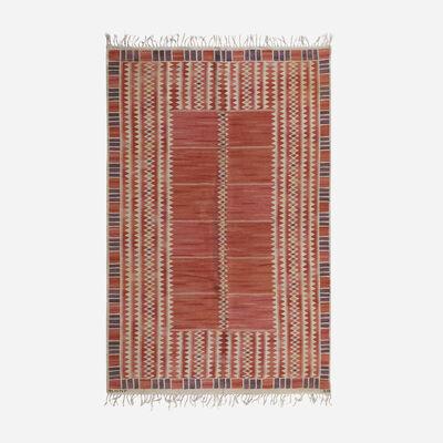 Barbro Nilsson, 'Salerno Flatweave Carpet', 1948