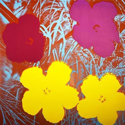 Andy Warhol, 'Flowers II.71', 1970