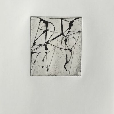 Brice Marden, 'Etching to Rexroth #10', 1986