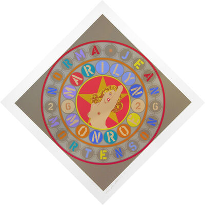 Robert Indiana, 'Metamorphosis Of Norma Jean', 1998
