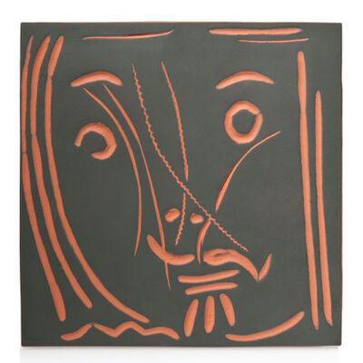 Pablo Picasso, 'Visage de femme 'Pomone' (A.R. 591)', 1969