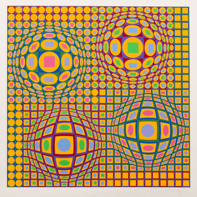 Victor Vasarely, 'Quadrature', 1979