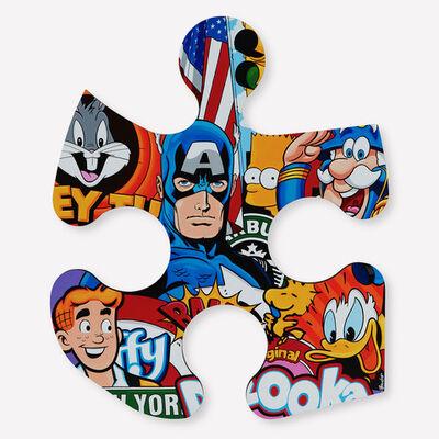 Boudro, 'Captain America & Friends', 2020