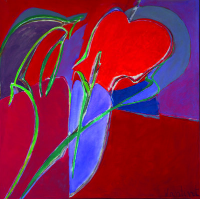 Louis Van Lint, 'Étrange végétation', 1982