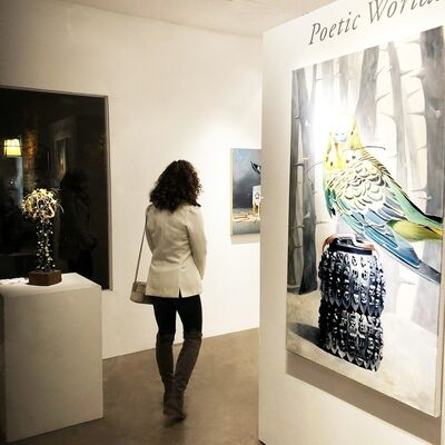 Poetic Worlds, installation view