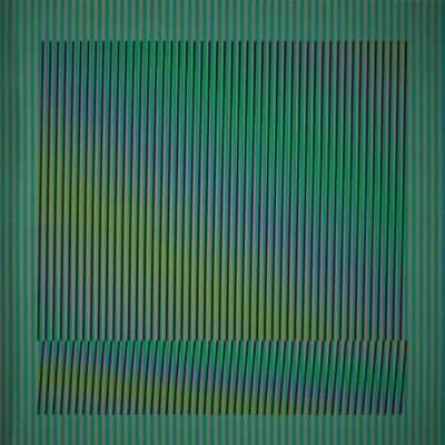 Carlos Cruz-Diez, 'Induction Chromatique a double fréquence Série Orinoco 4', 2018