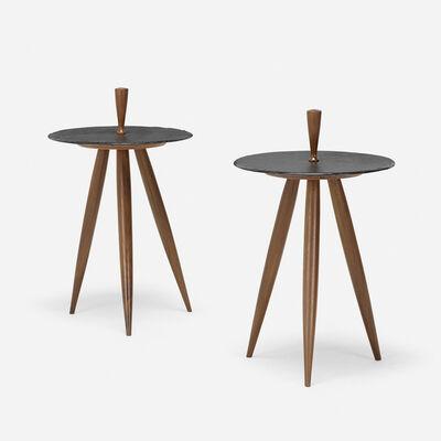Phillip Lloyd Powell, 'occasional tables, pair', c. 1970