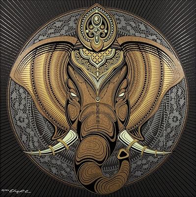 Chris Saunders, ''Elephant Mandala'', 2015
