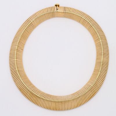 Cartier, 'Retro Cartier Gold Gaspipe Necklace', ca. 1940