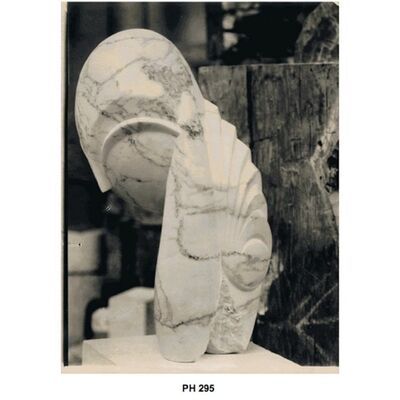 Constantin Brâncuși, 'Mlle Pogany II (Marble)', 1920