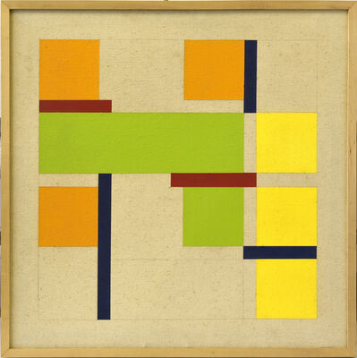 David Gold, 'Square Painting #3', 1970