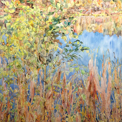 Dorothy Knowles, 'York Pond', 1994