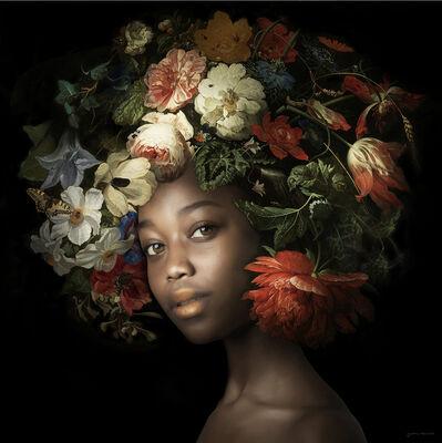 Yvonne Michiels, 'Fading Flowers Rose', 2021
