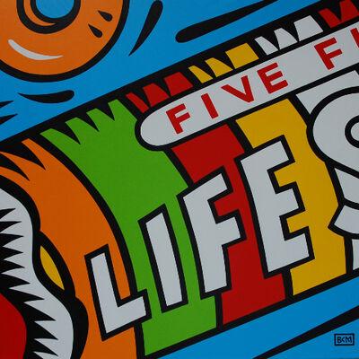 Burton Morris, 'Lifesavers', 2012