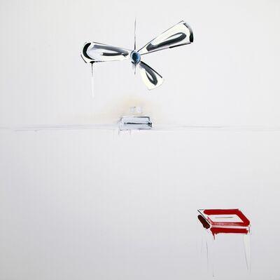 Panos Papadopoulos, 'Sofa and 2 paintings', 2016