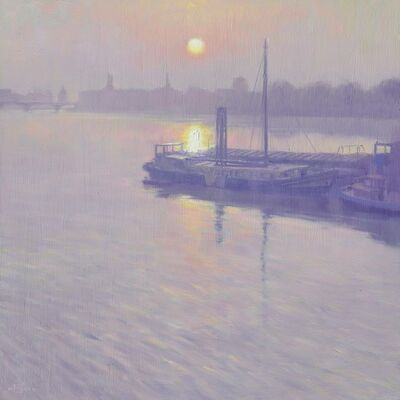 Mark Harrison, 'Battersea Sunrise'
