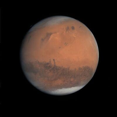 Michael Benson, 'Gibbous Mars, Rosetta, 24 February 2007', 2012