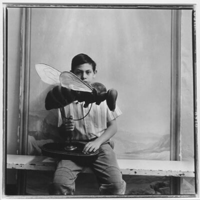 Keith Carter, 'Boy with Bee', 1990
