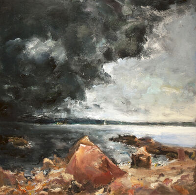 Raoul Middleman, 'Impending Storm', 2011
